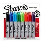 Sharpie chisel tip 8 ct assorted colors - $4.62 after $0.75 clip able coupon FS with $35+ Amazon