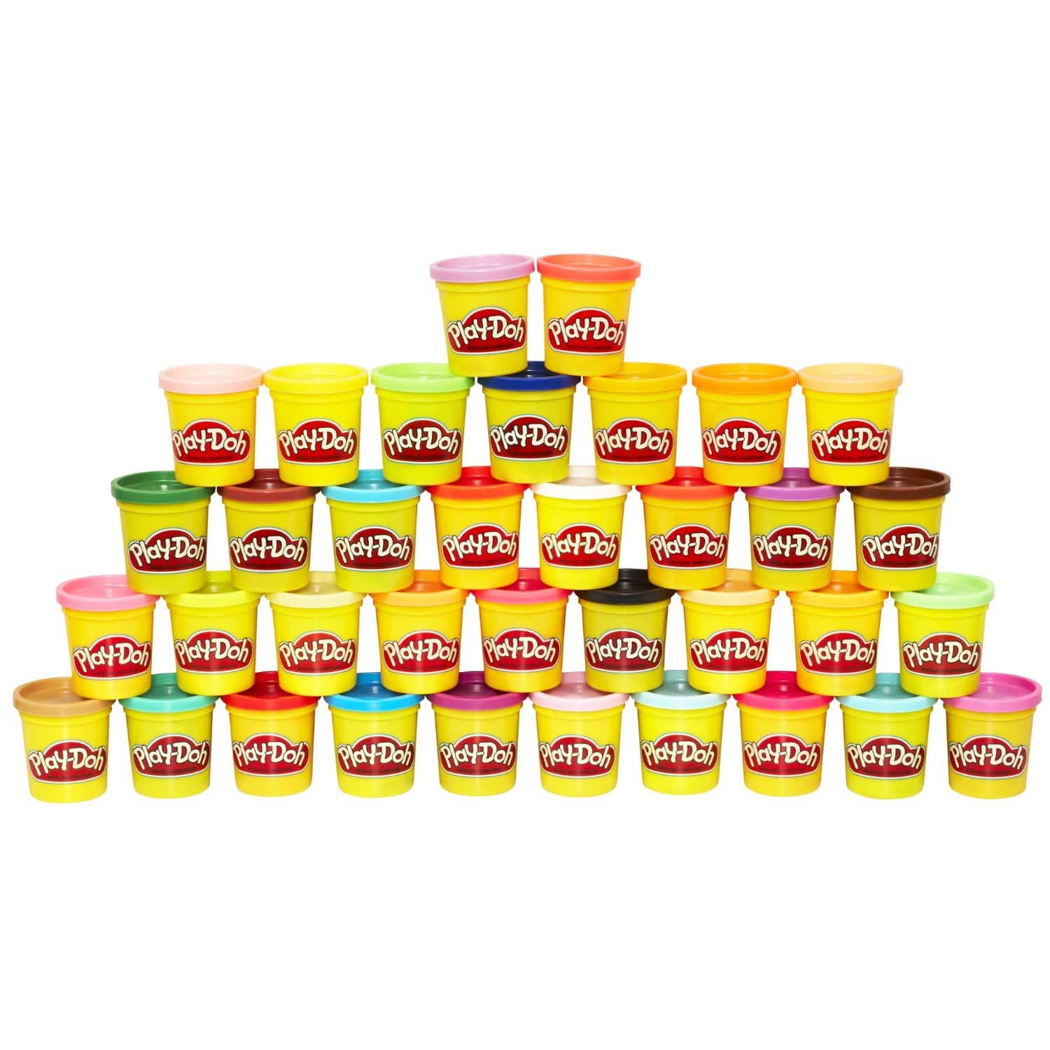 36 cans - 3oz Play Doh Mega Pack (36 Cans) $12.49 at Amazon