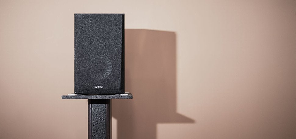 "Edifier R980T 4"" Active Bookshelf Speakers -$56"