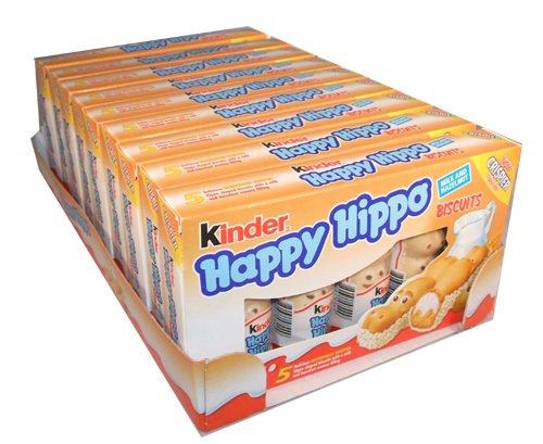 50 Count Kinder Happy Hippo - Hazelnut, CASE, 10x(20.7g x 5) 50 pcs $18.99