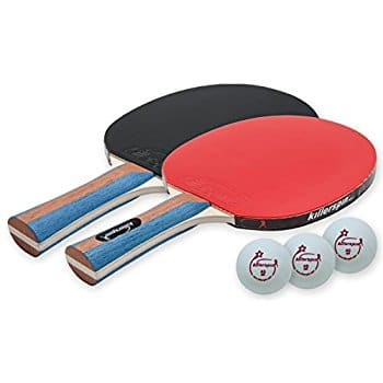 Killerspin Jetset 2 Table Tennis Paddle Set with 3 Balls $16.99 @Amazon