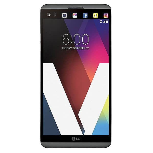 """LG V20 64GB Unlocked GSM 5.7"""" Android Nougat Smartphone w/ Dual Rear Cameras - Titan Gray - $309.99 Sold and shipped by Amazon possibly cheaper with promo"""