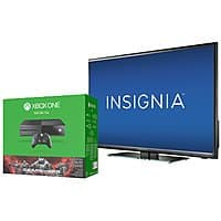 "Best Buy Deal: Insignia 40"" LED TV + Xbox One Gears Ultimate Edition Bundle + NBA 2K16 - $470 with .EDU Email Address"