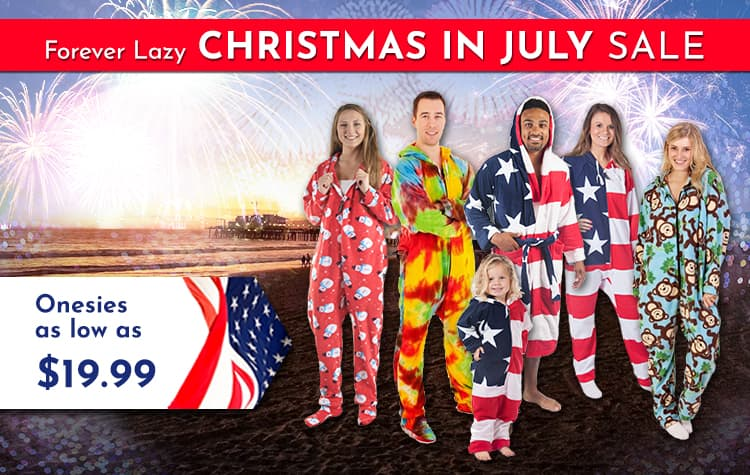 Forever Lazy Christmas in July Sale (Onesies) $19.99