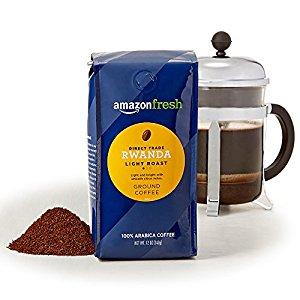 Amazon Prime Only - Rwanda Fair Trade Ground Coffee - $10.84 3x12oz
