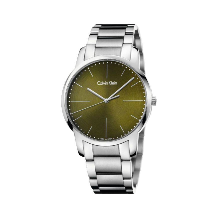 Ashford has Calvin Klein city watch with ETA F07.401 PreciDrive movement for $36.10 with Coupon HOT5