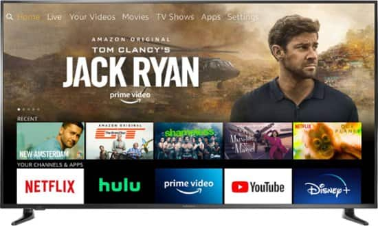 """BACK ON SALE - Insignia 70"""" Class LED 4K UHD Smart Fire TV Edition TV NS-70DF710NA21 Free Shipping or Pickup $499.99"""