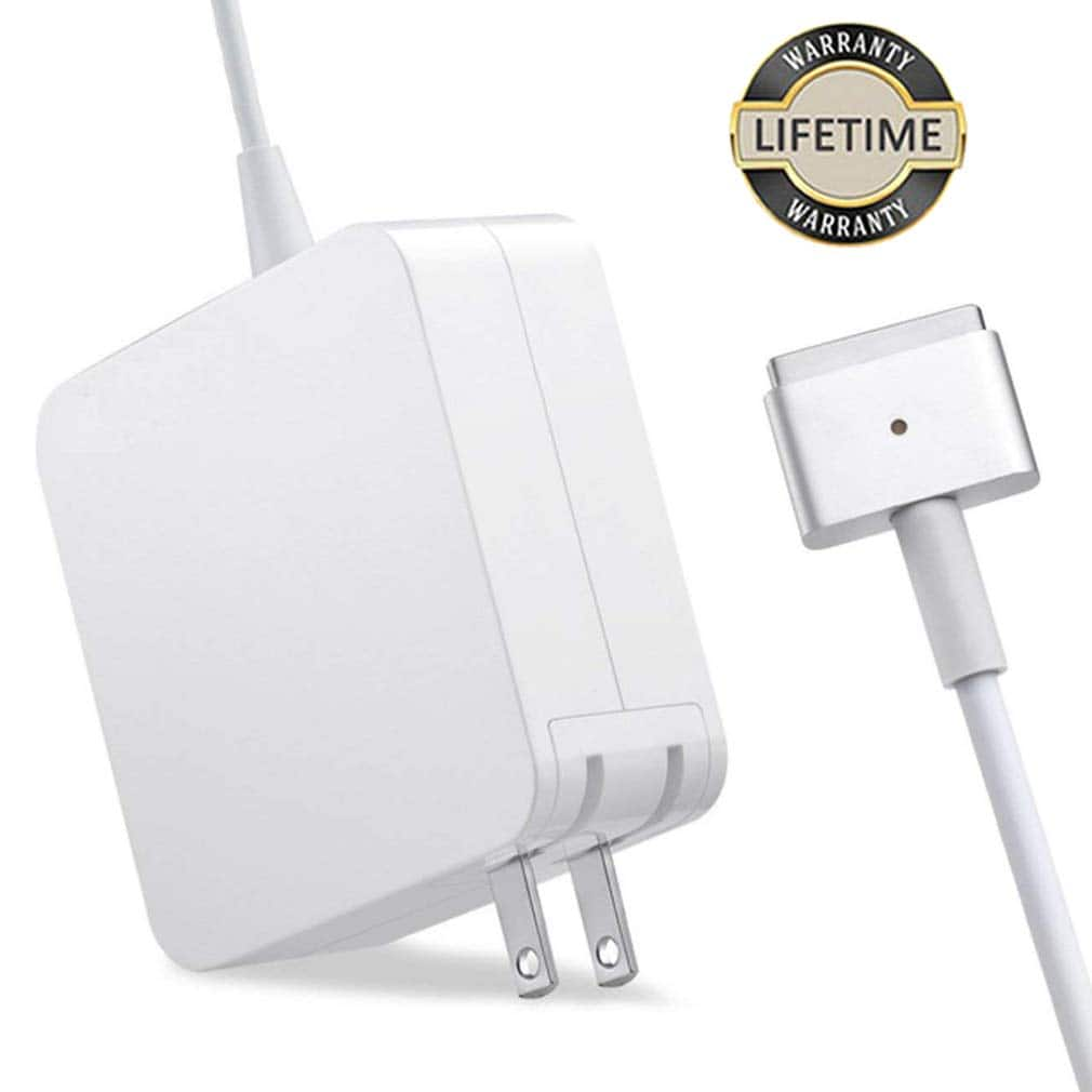 Mac Book Air Charger, 45W MagSafe 2 Power Adapter T-tip Style Connector Replacement Charger $17.49