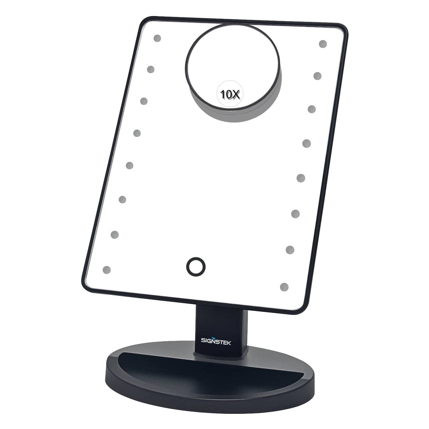16 LED Touch Screen Lighted Vanity Cosmetic Make Up Mirror with 10x Magnification - $$11.99 -  FS/Amazon Prime