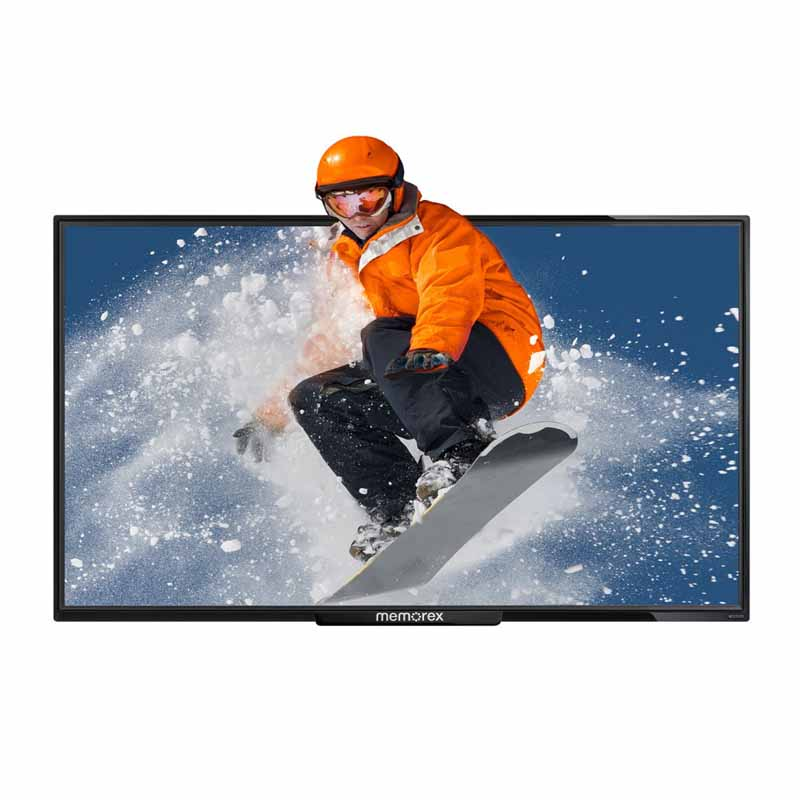 "MEMOREX 55"" Class (54.5 Actual Diagonal Size) CrystalVision 4K UHDTV MLT-5558 - $399 In store only"