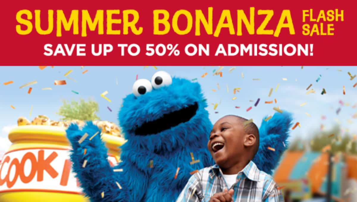 Sesame Place Water park starting at $35 best prices of the year (Langhorne, PA)