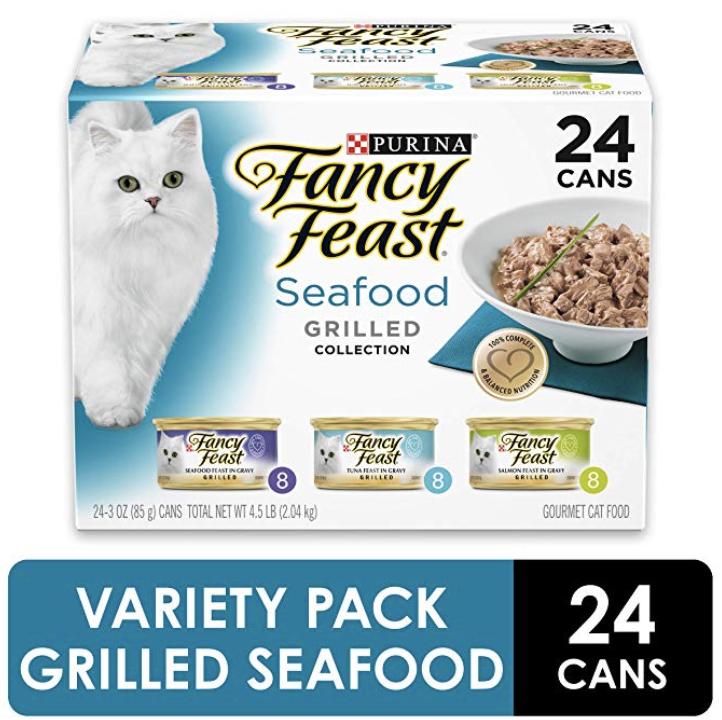Purina Fancy Feast Grilled Feast in Gravy 24 cans $6.97 (40% off) Amazon S&S YMMV
