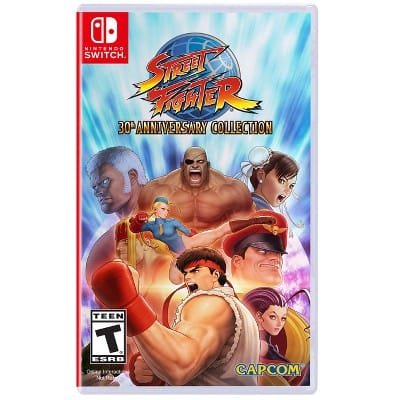 Street Fighter 30th Anniversary Collection - Nintendo Switch $15 Target $14.99