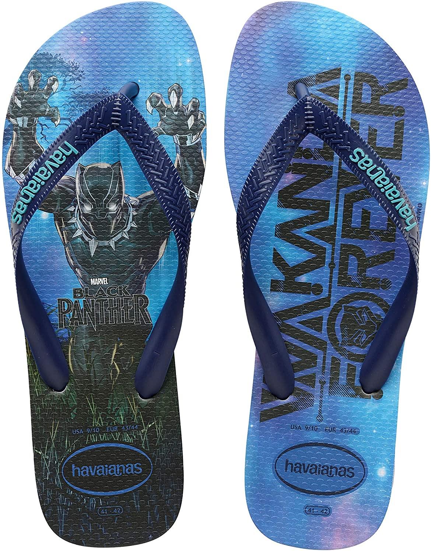 Amazon Havaianas Black Panther Flip Flops $12.14+