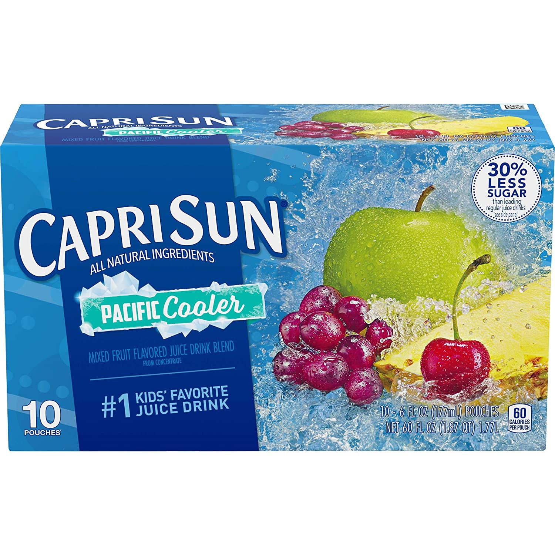 Amazon Capri Sun Pacific Cooler Ready-to-Drink Juice (10 Pouches) $1.83 - $1.83