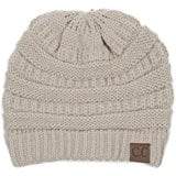 Cable Knit Beanie by Tough Headwear For Male and Female