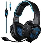 $19.19 Sades Over-Ear Stereo Bass Gaming Headphone with Noise Isolation Microphone for Xbox One PC PS4 Laptop Phone
