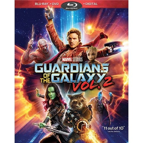 Guardians of the Galaxy Vol. 2 Blu-ray at Amazon (Price matched Best Buy) $7.99