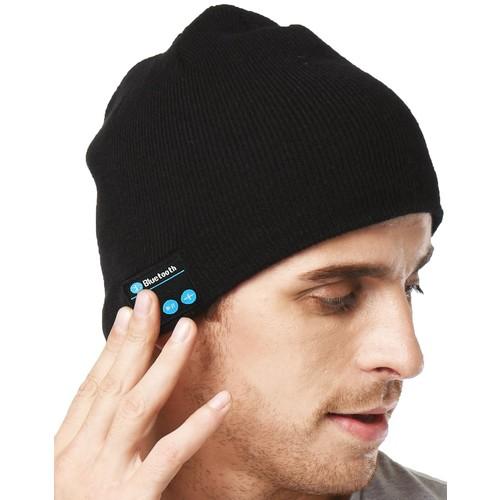 [Black]XIKEZAN Unisex Bluetooth Beanie Smart Winter Knit Hat V4.1 Wireless Musical Headphones Earphones w/ 2 Speakers $8.68 at Amazon