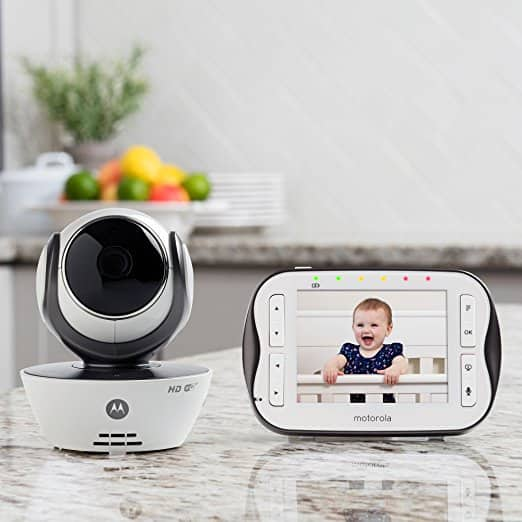 Motorola MBP843CONNECT Digital Video Baby Monitor with 3.5-Inch Screen and Wi-Fi Internet Viewing For $119.99