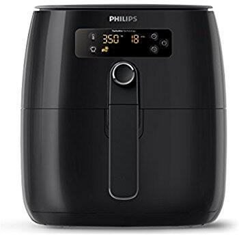 Philips Airfryer, Avance Digital TurboStar, Fry Healthy with 75% Less Fat, HD9641/96, Black $174.95