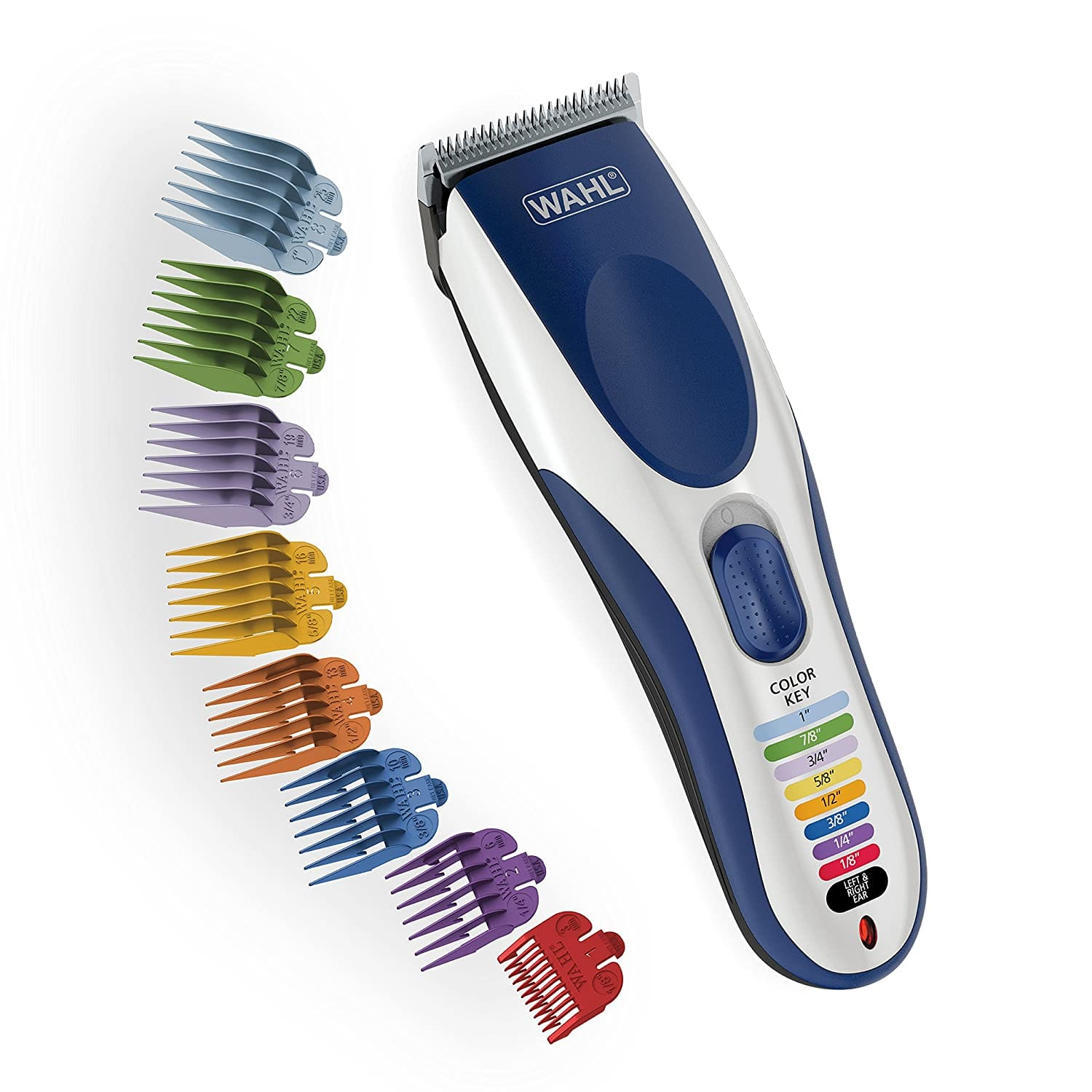 Wahl Color Pro Cordless Rechargeable Hair Clipper & Trimmer –  Model 9649 - $33.61