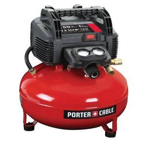 Porter-Cable C2002R 150 PSI 6 Gallon Oil-Free Pancake Compressor Reconditioned $62.10 Shipped Ebay With Code PLAYOFFS18