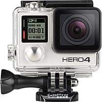 Best Buy Deal: GoPro Hero4 Silver Moto Bundle + 16GB MicroSD + Camera Case + $70 BBY Gift Cards for $400 @ Best Buy Shipping only