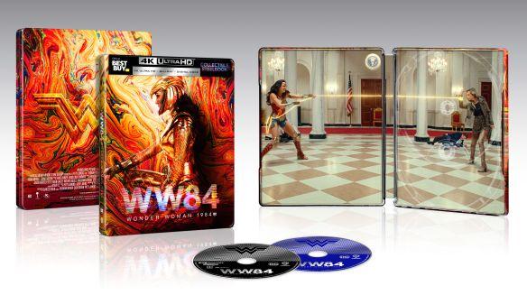 Wonder Woman 1984 [SteelBook] [Digital Copy] [4K Ultra HD Blu-ray/Blu-ray] Best Buy $20 $19.99