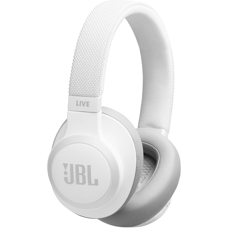 JBL LIVE 650BTNC Wireless Over-Ear Noise-Canceling Headphones (White) $70 B&H