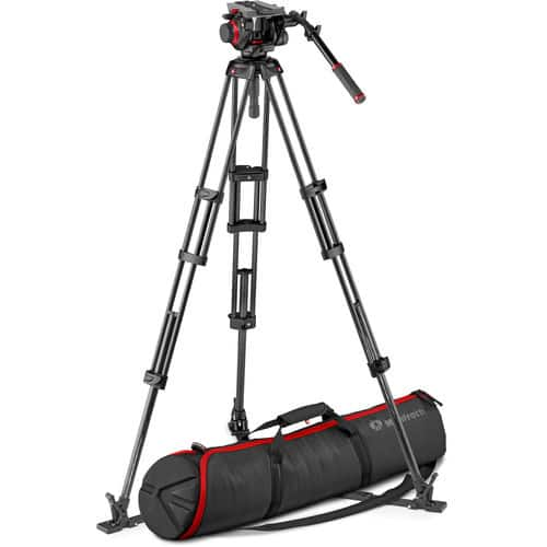 Manfrotto 504HD Head & Carbon Fiber Tripod & SmallHD FOCUS Monitor B&H $649.88