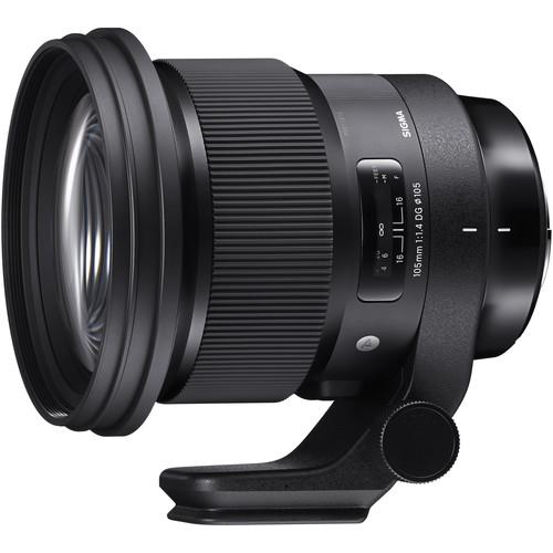 Sigma 105mm f/1.4 DG HSM Art Lens for Sony E B&H $1179