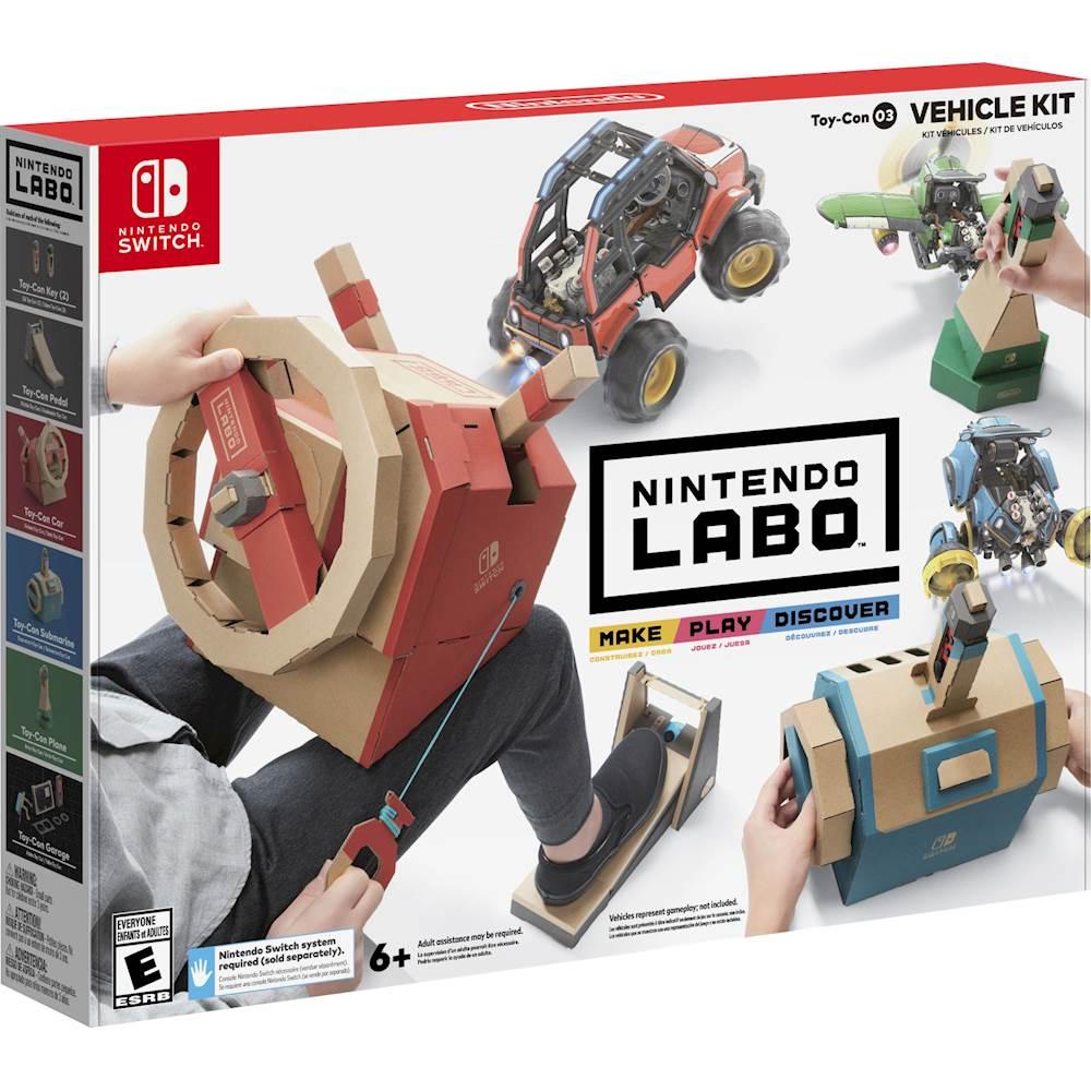 Labo Toy-Con: Vehicle Kit - Nintendo Switch Best Buy $19.99