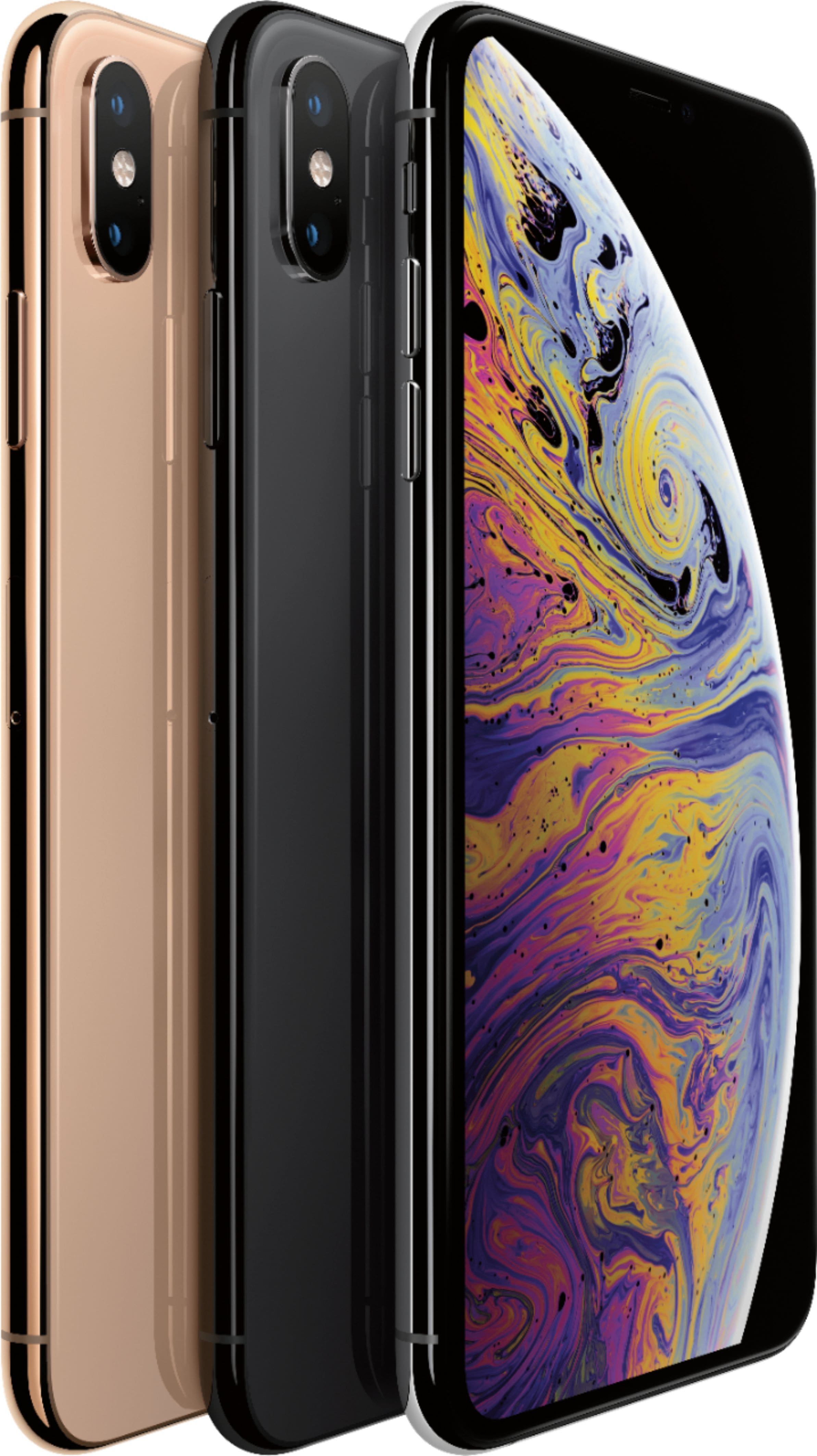 Verizon Apple Iphone Xs Max 512gb 700 Off 27 Mo Gold Space Gray Silver 650
