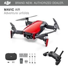 DJI Spark + Controller + 2nd battery $380, Mavic Air $650, Mavic Air Fly More $830