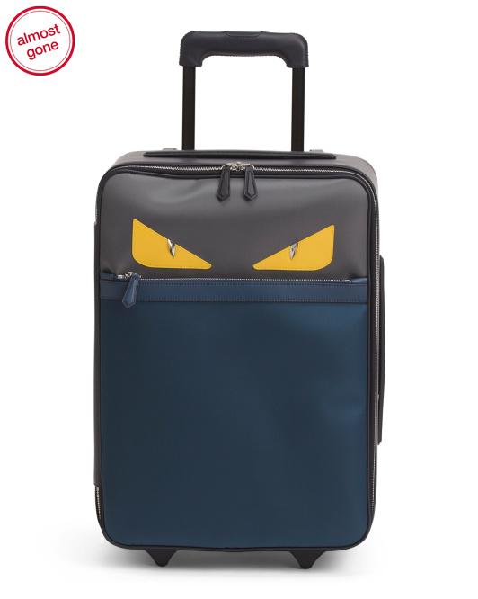 FENDI Italian 20in Trolley Suitcase $1,440 @TJ-MAXX $1440