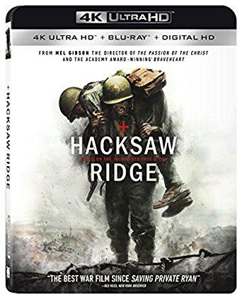 Hacksaw Ridge 4K UHD $12 after carwheel Target B&M
