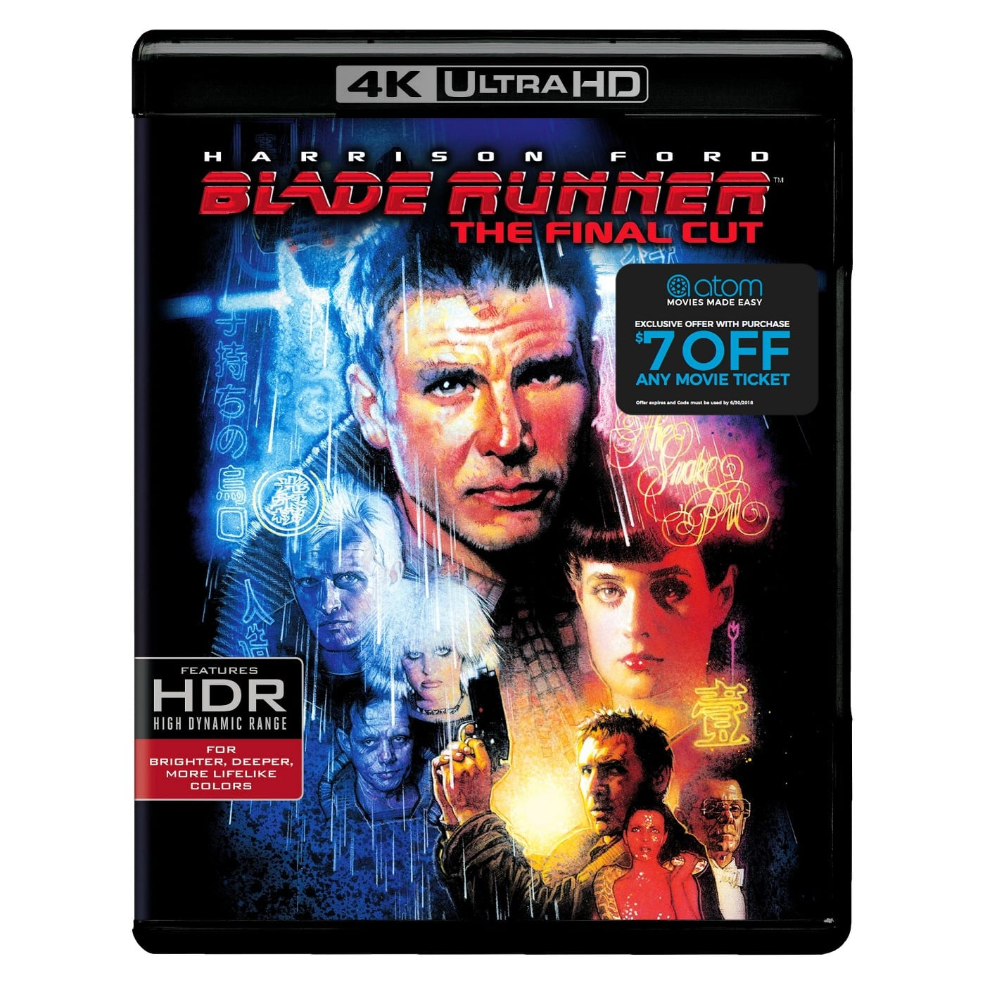 Blade Runner: The Final Cut UHD @ Target in store only $17.49