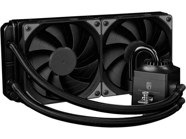 DEEPCOOL Gamer Storm CAPTAIN 240EX RGB-AIO CPU Liquid Cooler 240mm RGB Waterblock And LED Strip $74.99