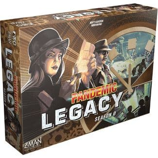 Pandemic Legacy Season 0 board game with 10% circle and redcard for $59.84