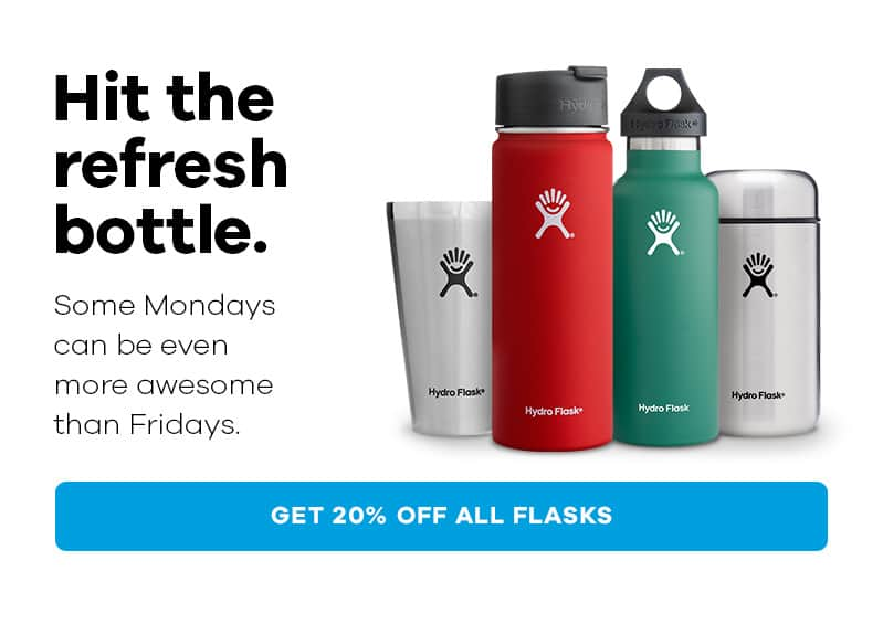 HydroFlask Cyber Monday - Automatic 20% off + additional 20% off at checkout with HYDRO20 -Price mistake