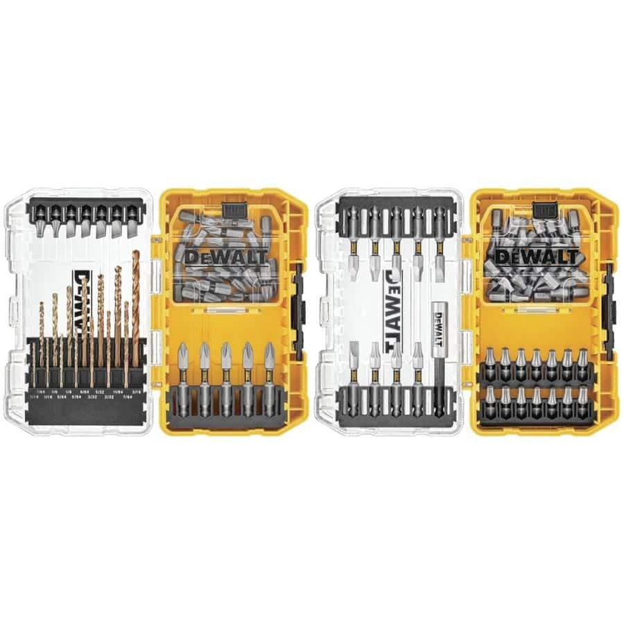 DEWALT Toughgrip 100-Piece Shank Screwdriver Bit Set $8.99 B&M only