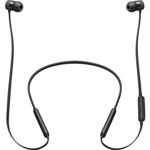 Beats X / Powerbeats3 - Beats by Dr. Dre - Geek Squad Certified Refurbished - Black/White - $64.99-$74.99