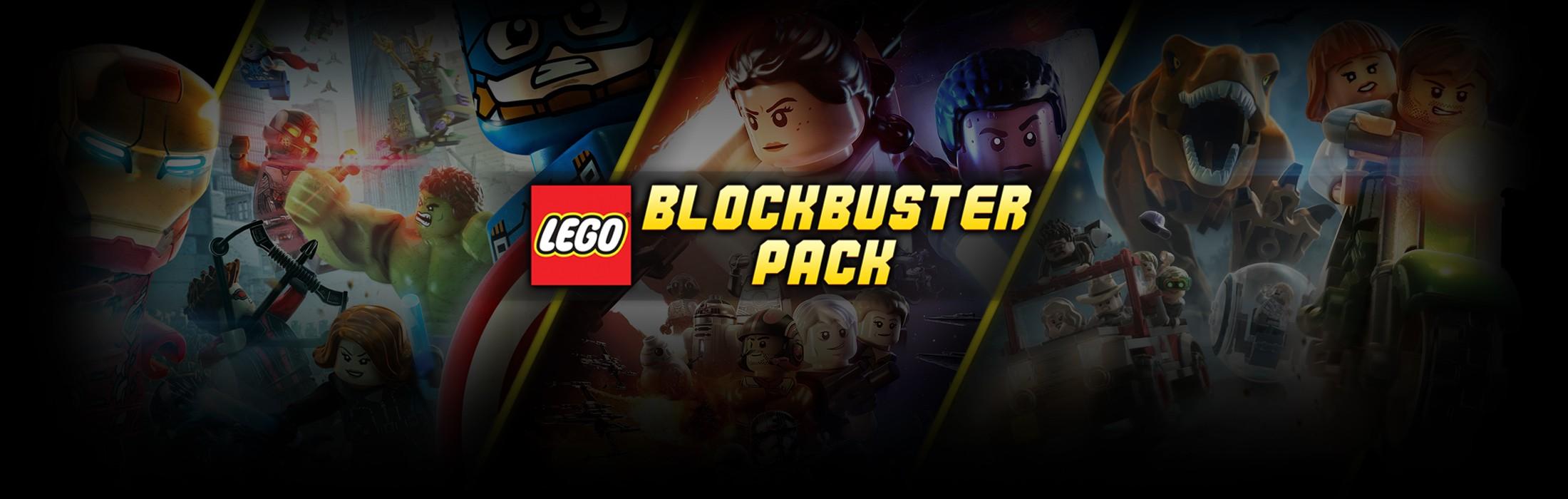 Lego Steam Bundle - The Force Awakens / Avengers / Jurassic World - $11.99