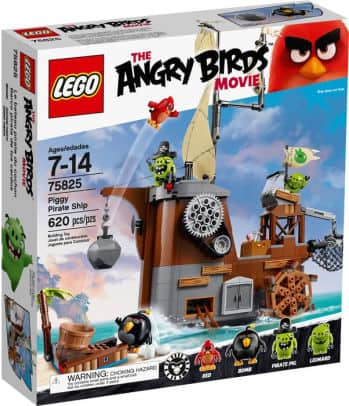 Barnes And Noble has 75825 LEGO® Angry Birds Piggy Pirate Ship for $29.97 Free Shipping!