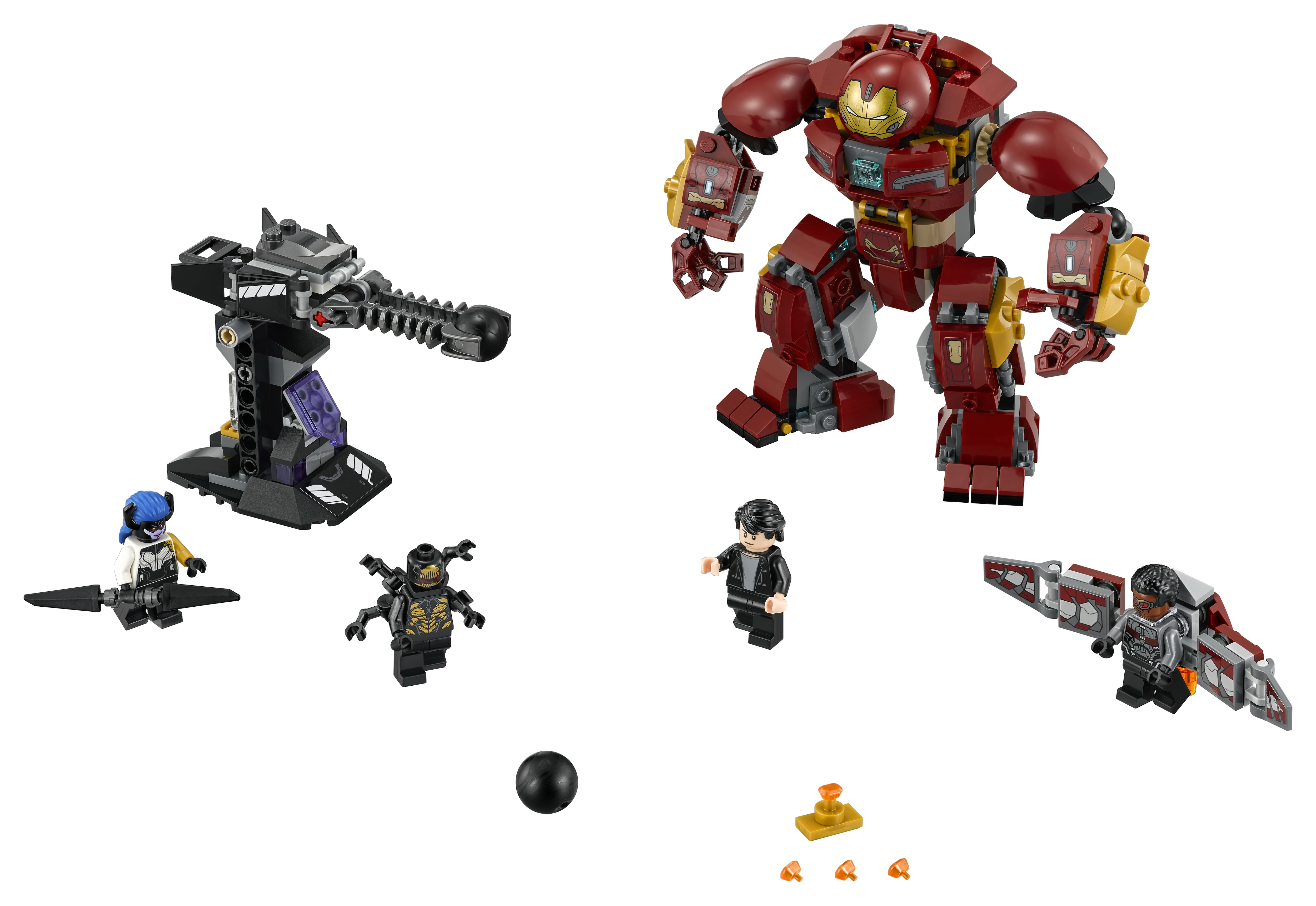 walmart has LEGO Super Heroes The Hulkbuster Smash-Up 76104 for $24.44
