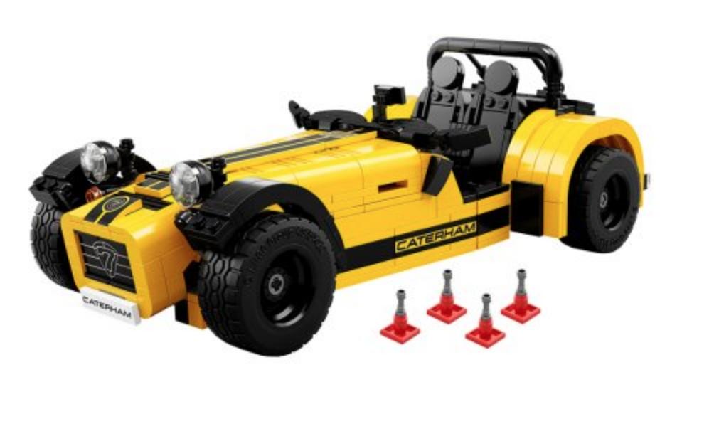 walmart has LEGO Ideas Caterham Seven 620R 21307 for $60.88 free shipping