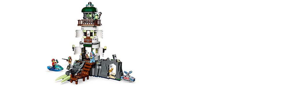 AMAZON HAS LEGO Hidden Side The Lighthouse of Darkness 70431 Ghost Toy, Unique Augmented Reality Experience for Kids, New 2020 (540 Pieces) FOR $32.36