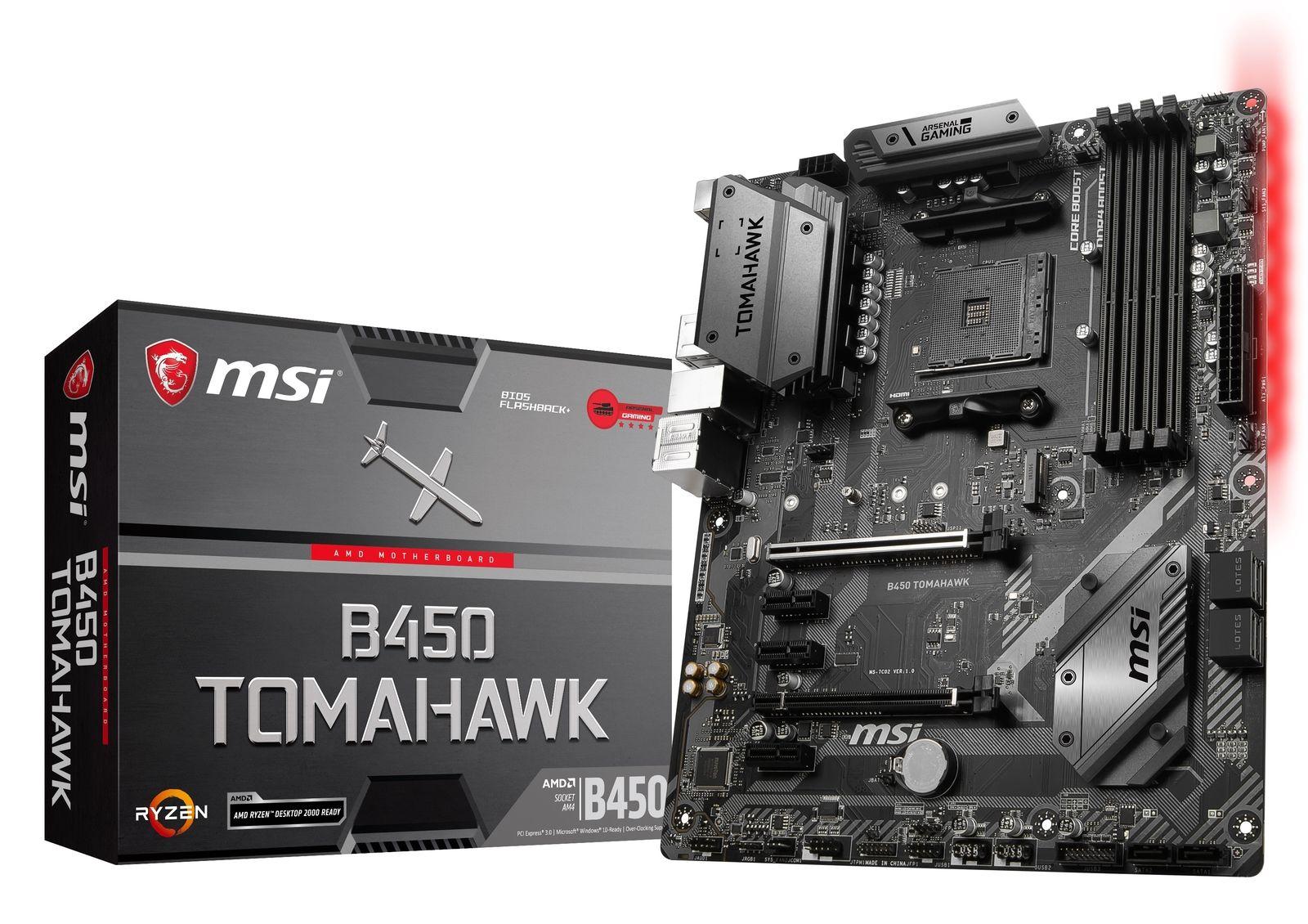 MSI B450 Tomahawk $109.99 YMMV