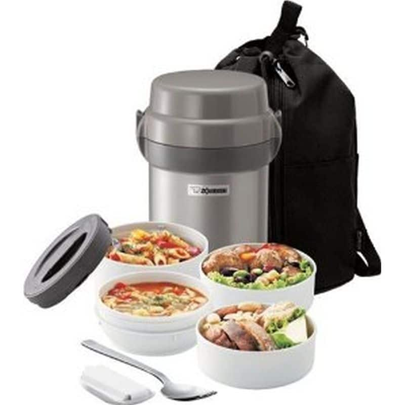 Zojirushi Mr Bento, Stainless Steel - $23.99 with emailed promo code at Fry's, Monday only.  In-store or online!